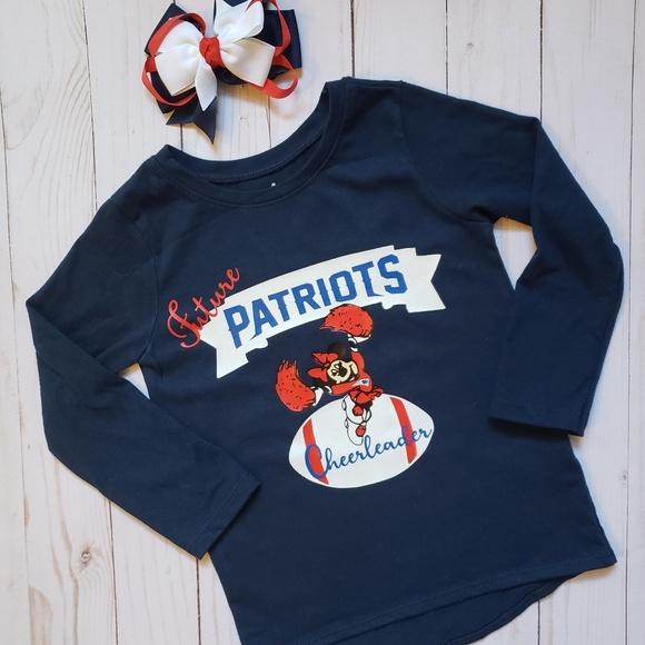 toddler girl patriots shirt